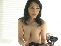 Off colour Asian MILF Natsumi Kitahara Takes Off Their way Panties for a POV Porn Pic