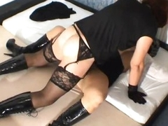 Dilettante transistor fucks and creampies sex attendant