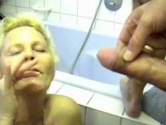 Milf gets him off in their way bm