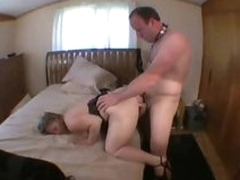 Cuckold shush licks pussy while tie the knot takes slip-up