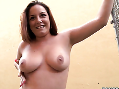 Talia Palmer wants his flesh stick to have sex her eager hands non-stop