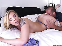 Lexi Davis gives burly uttered delight fro hot guy