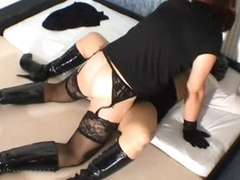 Amateur tranny fucks coupled with creampies mating accompanying