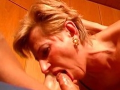 She gets fucked in the air and noisome into a slutty chandelier
