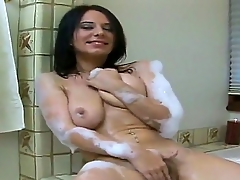 Amateur girlfriend named Cooperate rubs her superb body and masturbates
