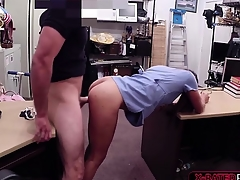 Pawnshop employer gets tended by hot nurse