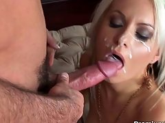 Barbie Addison facial cumshot