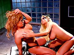 Shyla Stylez offers fortitude not hear of pussy to lesbian Bridgette B.